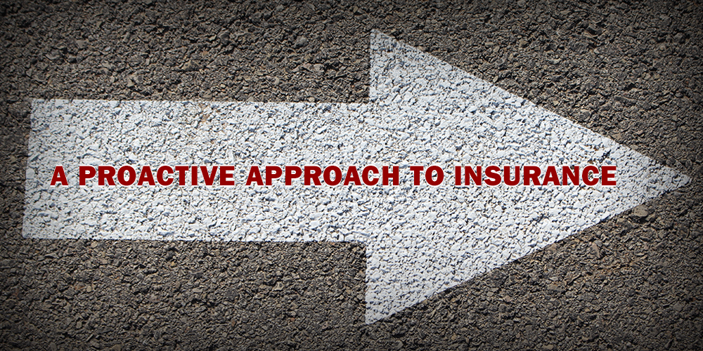 A Proactive Approach to Insurance